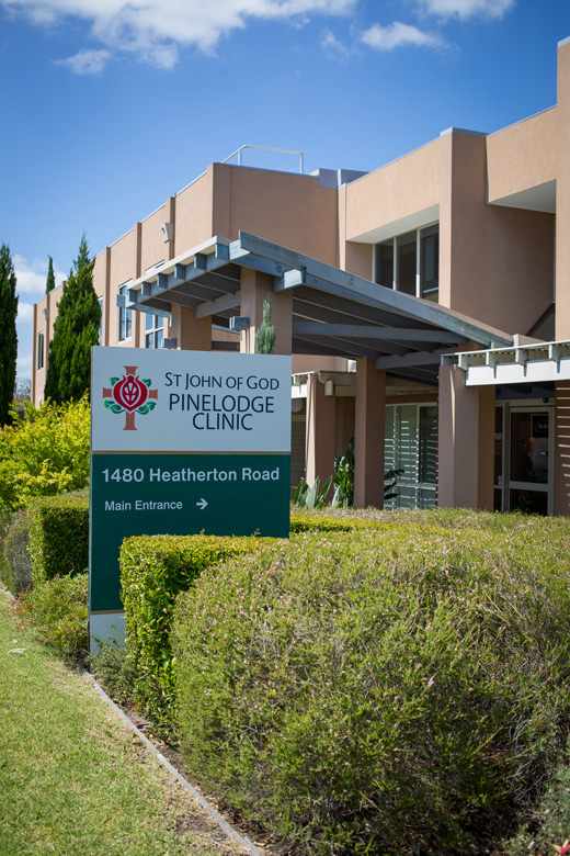 St John of God Pinelodge Clinic